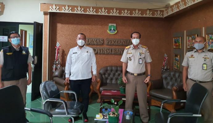 Karantina Pertanian Soekarno Hatta Kunjungi Pemda Kabupaten Kota Provinsi Banten Diskusikan Kinerja Ekspor